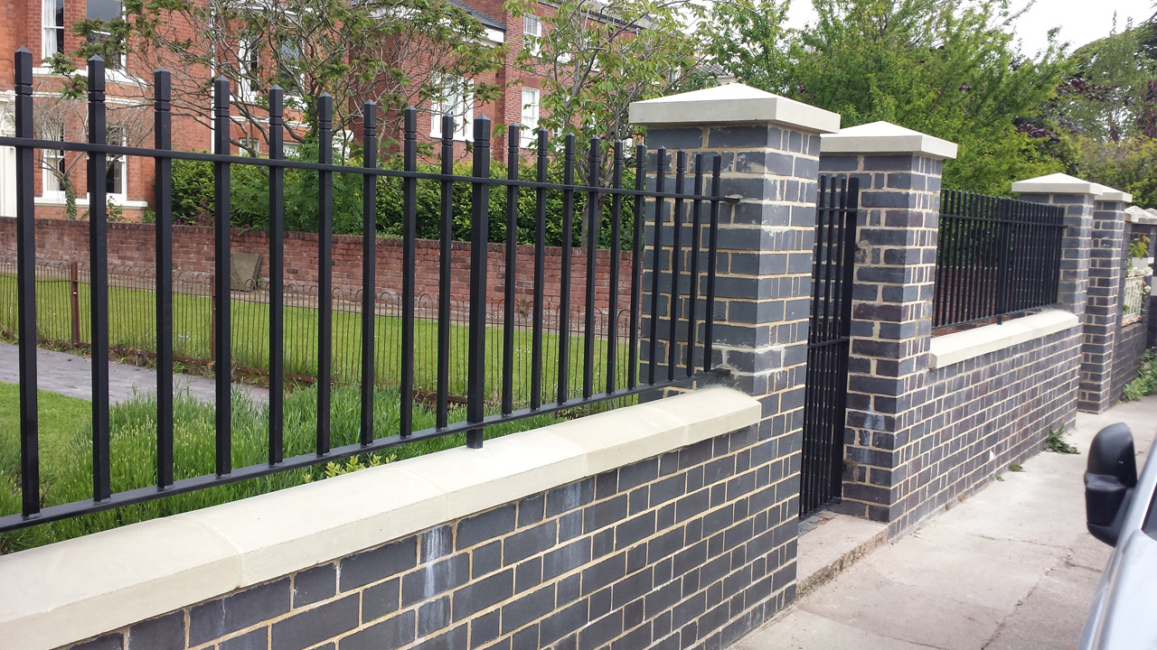 Front-boundary-wall