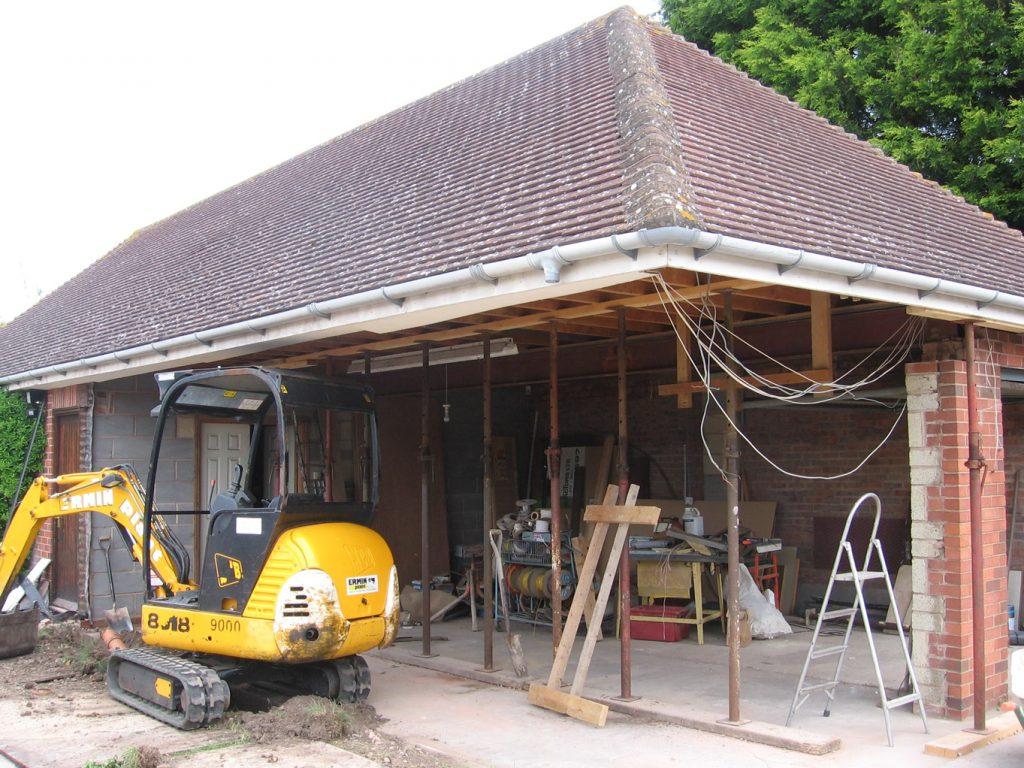 double-garage-construction-extension